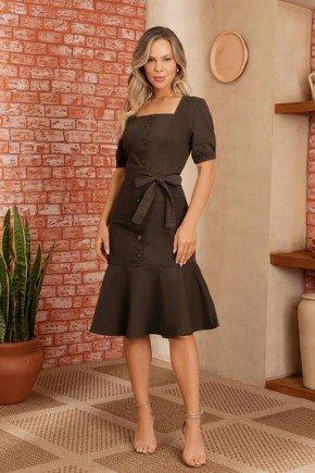 vestido marrom via tolentino 1