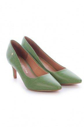 scarpin verde napa salto baixo ziza di valentini 2