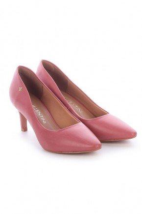 scarpin rosa napa salto baixo ziza di valentini 2