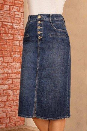 saia jeans midi abertura e botoes frontais via tolentino 6
