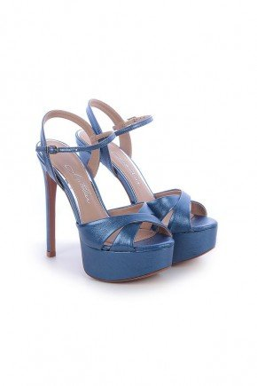 sandalia azul metalizado salto alto kati l atelier 2