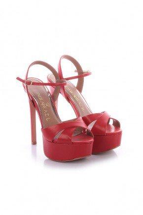 sandalia vermelha meia pata salto alto kati paula brazil 2