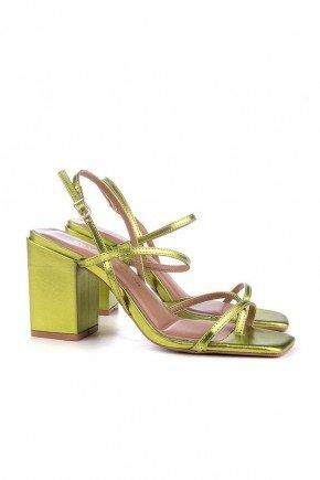 sandalia verde metalizado salto grosso maira di valentini 2 easy resize com