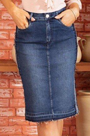 saia feminina jeans reta barra desfiada via tolentino 1