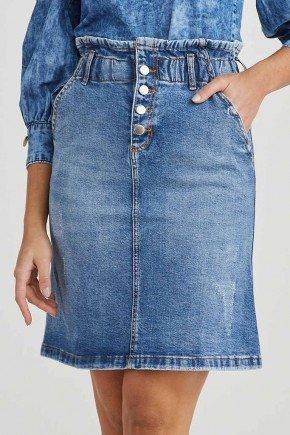 saia jeans evase cos largo franzido cleo challot hadock 1