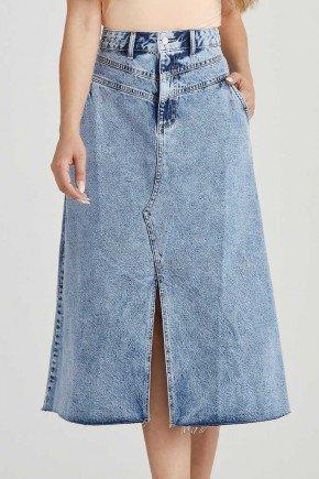 saia jeans maxi midi fenda frontal irene challot hadock 1