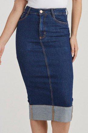 saia feminina jeans lapis barra avesso sueli challot hadock 2