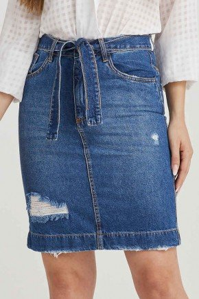 saia feminina jeans com amarracao viviane challot hadock 1