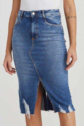 saia jeans reta barra desfiada fatima challot hadock 1