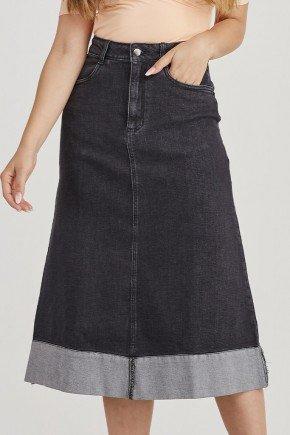 saia jeans midi detalhe na barra jeiza challot hadock 1