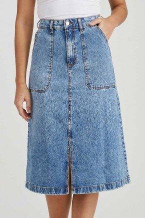 saia jeans midi fenda frontal betina challot hadock 2