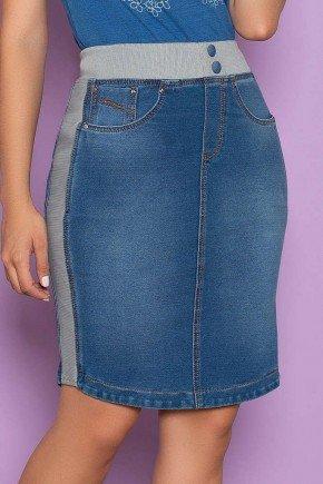 saia malha denim com cos em ribana nitido jeans 1