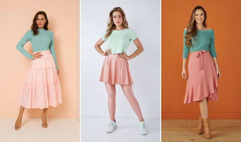 blog verde com rosa
