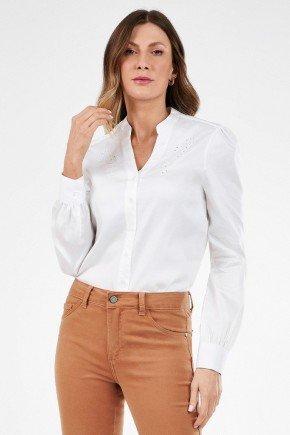 camisa feminina off white bordado richelieu nayara2