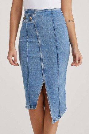 saia jeans lapis barra assimetrica sonia challot hadock 2