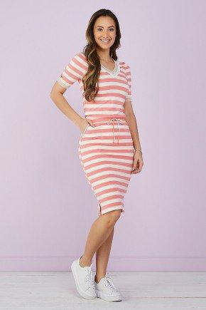 vestido justo viscolycra rosa tata martello 6