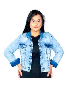 jaqueta jeans claro 2