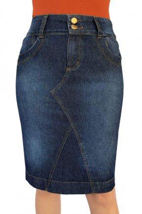 saia jeans reta recortes frontais dyork jeans 8
