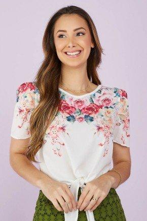 blusa estampada pink amarracao 4