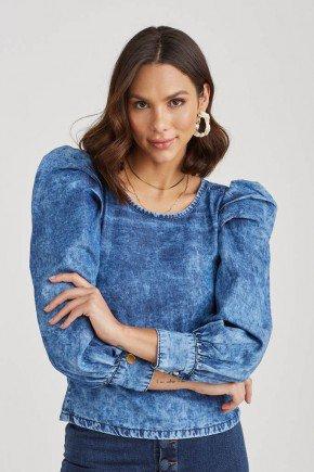 blusa jeans manga bufante tabata challot hadock 4