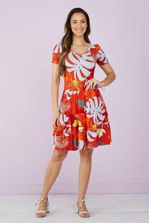 vestido estampado vermelho 3