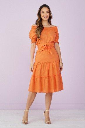 vestido laranha evase amarracao 2