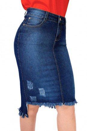saia jeans reta barra desfiada e pluidos dyork jeans 5