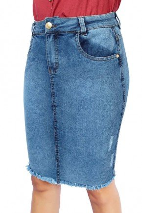 saia jeans barra desfiada dyork jeans 3