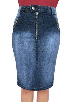 saia jeans com ziper aparente dyork jeans 7