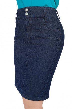 saia feminina jeans secretaria reta dyork jeans 6