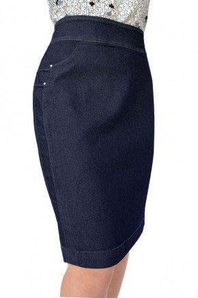 saia jeans reta cintura alta dyork jeans 6