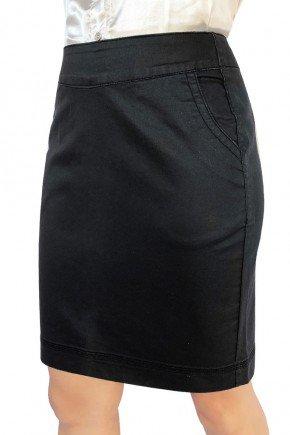 saia jeans resinado reta dyork jeans 7