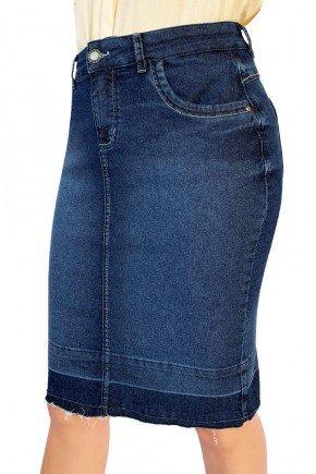 saia jeans barra desmanchada dyork jeans 7