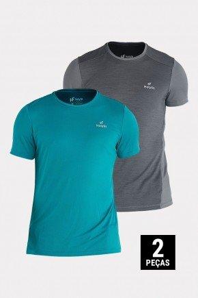 kit 2 camisetas masculinas dry fit poliamida holyfit