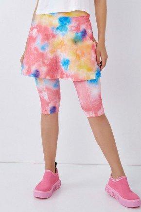saia corsario supplex original estampa tie dye com bolso moda evangelica fitness epulari 8