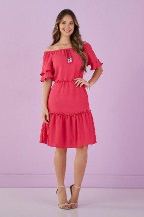 vestido pink em crepe tata martello pink g 6