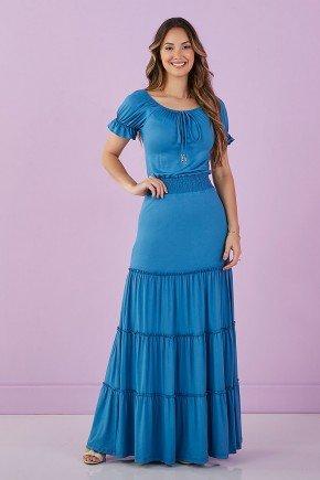 vestido longo azul jeans 2