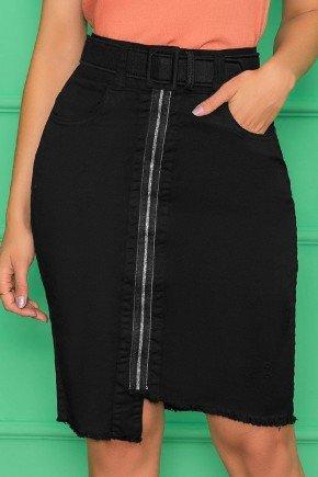 saia black justa com cinto nitido jeans 7