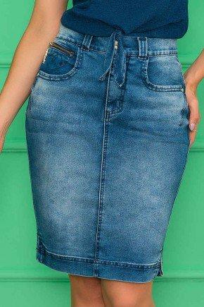 saia jeans fendas laterais 2