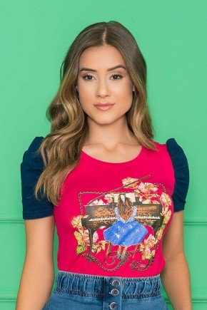 t shirt estampada pink 5