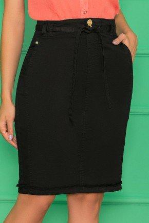 saia jeans secretaria black nitido jeans 1