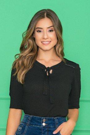 blusa viscose com amarracao black nitido jeans 6