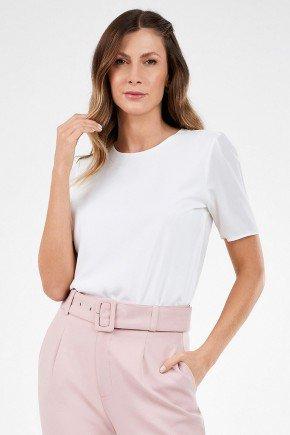 blusa feminina off white basica rosete principessa1