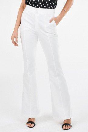 calca flare de alfaiataria off white com recortes rebeca principessa1