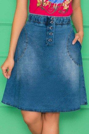 saia jeans evase cos largo com elastico nitido jeans 8