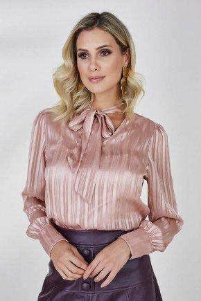 camisa rose gola laco amelie cloa 1