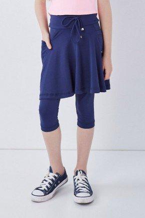 saia corsario azul moda fitness evangelica infantil poliamida uv50 epulari kids6