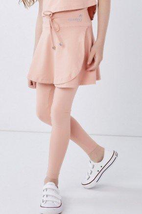 saia calca comprida infantil moda fitness evangelica poliamida rose epulari 11
