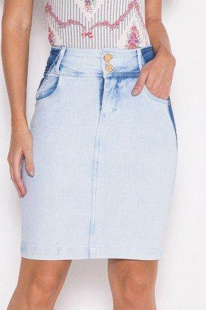 saia jeans com detalhe de reservas laura rosa baixo