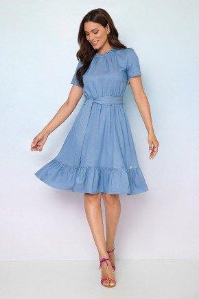 vestido viscose denim babadinhos livia 2
